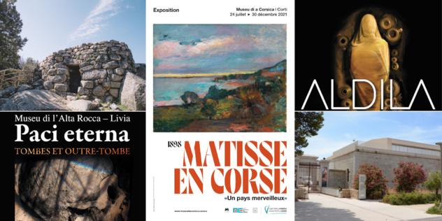 Le programme des Journées européennes du patrimoine 2021 de la Collectivité de Corse