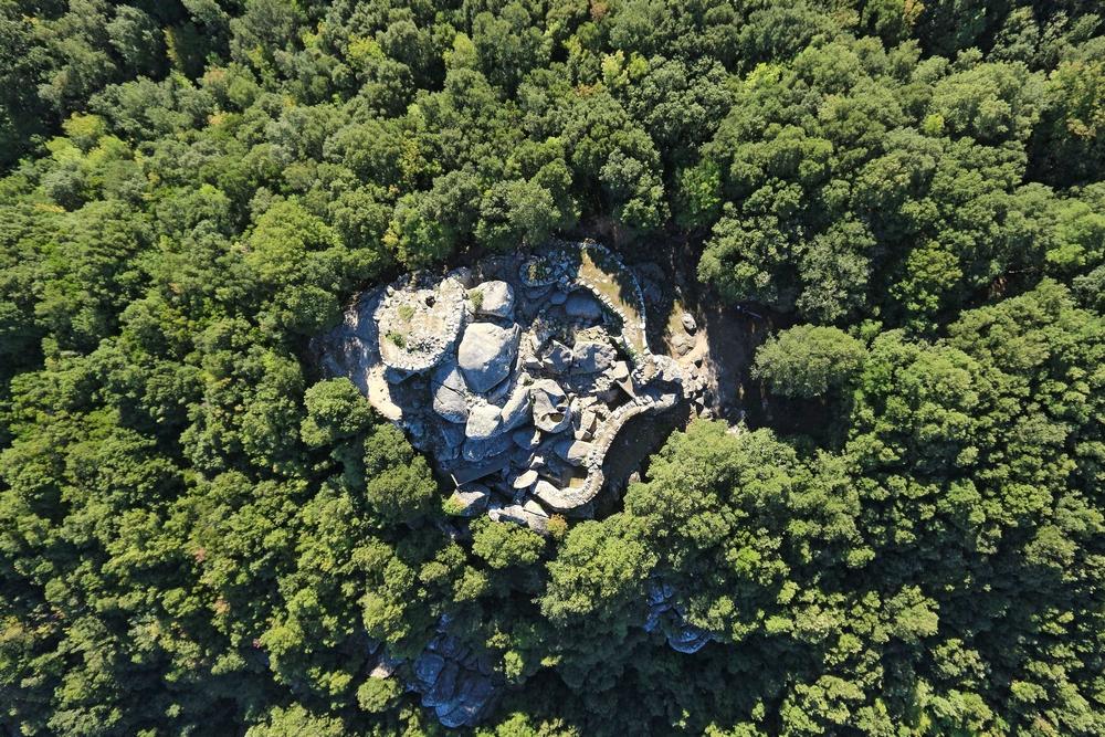 Site archéologique de Cucuruzzu. S.Aude / Balloide photo / CTC - 2012