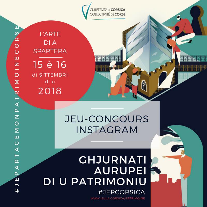 Jeu concours Instagram #JEPartageMonPatrimoineCorse