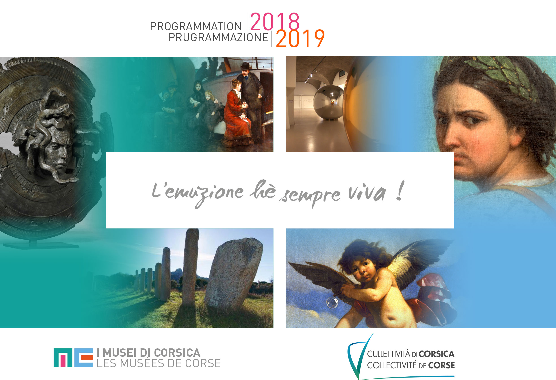 Les musées de Corse - programmation 2018-2019