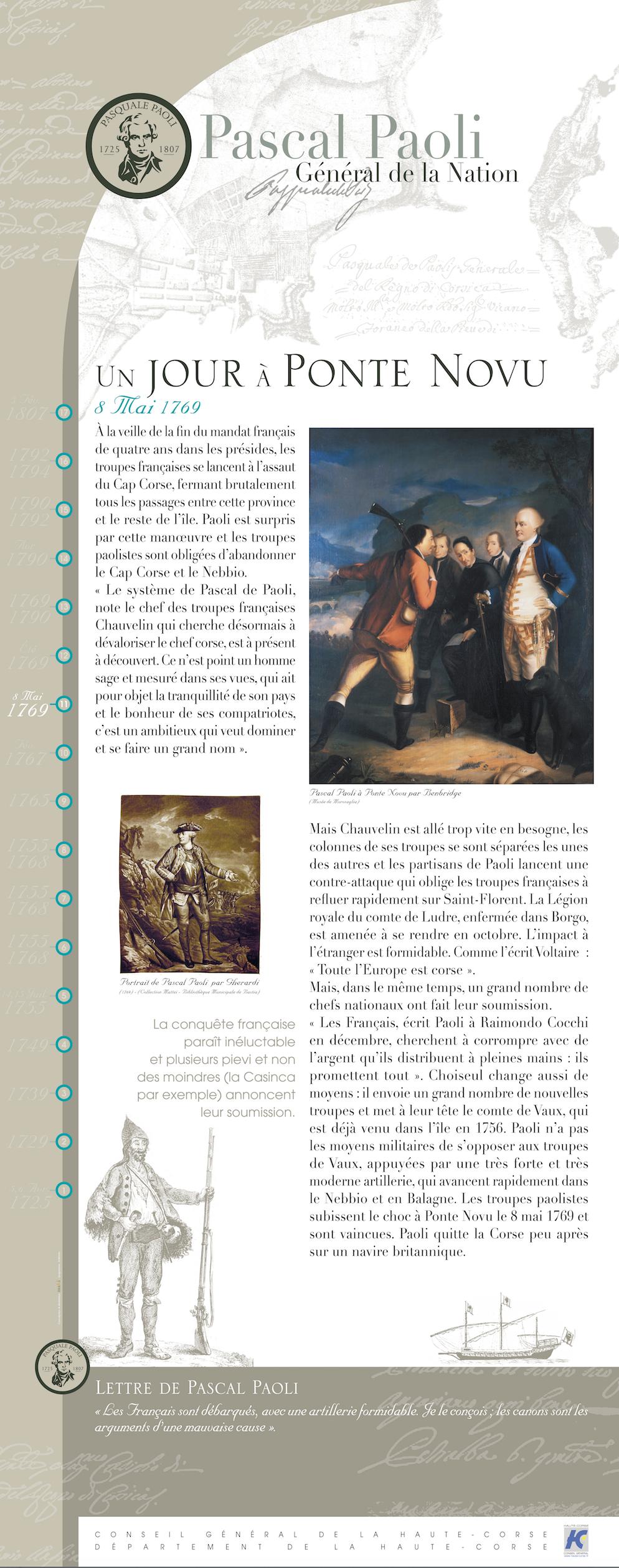 La bataille de Ponte-Novu - A battaglia di u Ponte Novu