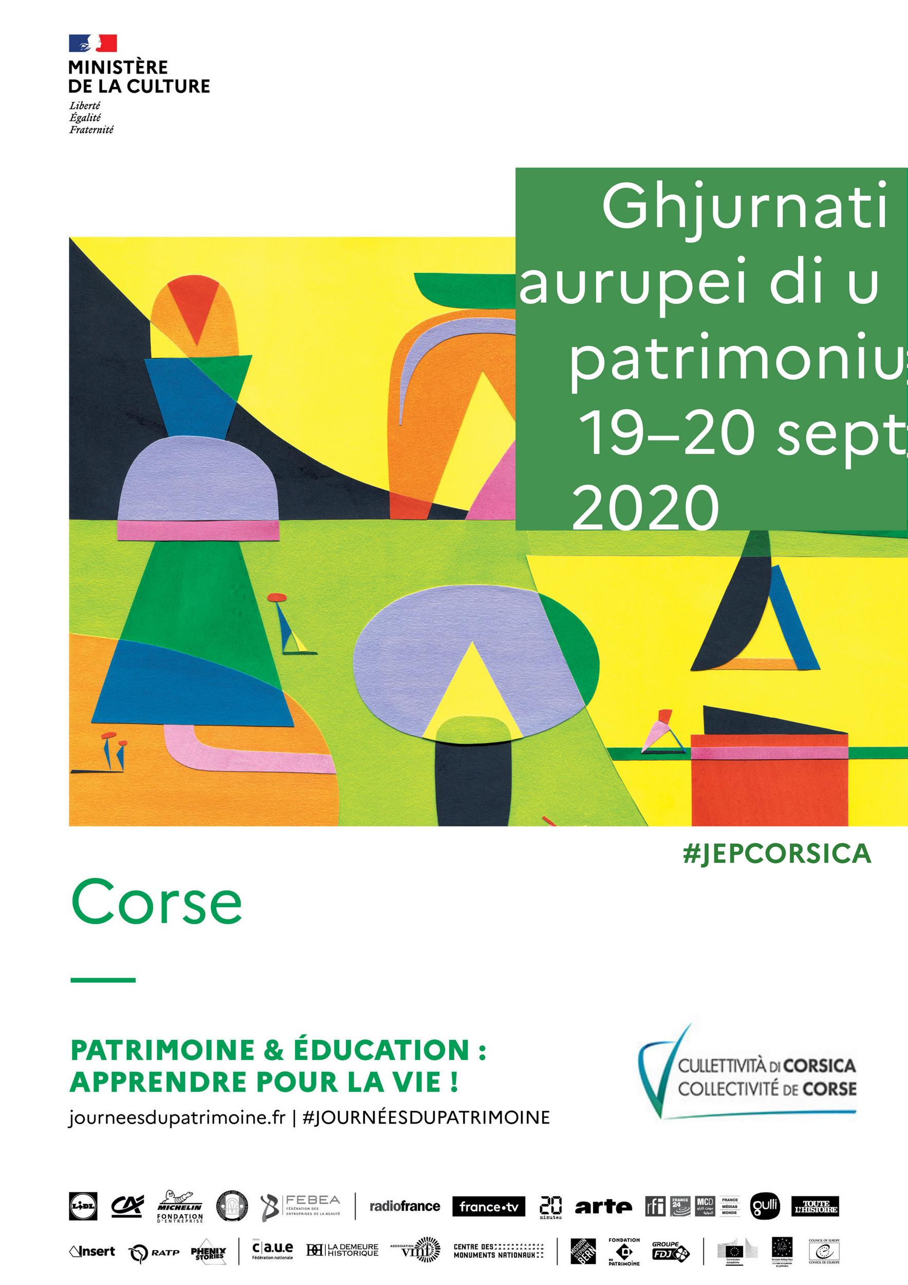 JEP 2020 Illustration ©Jérémie Fischer Ministère de la Culture