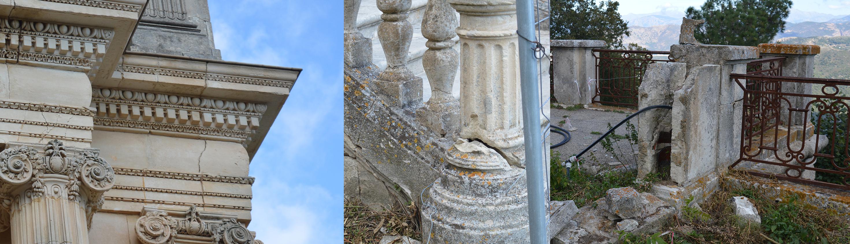 Restauration du château de la Punta à Alata