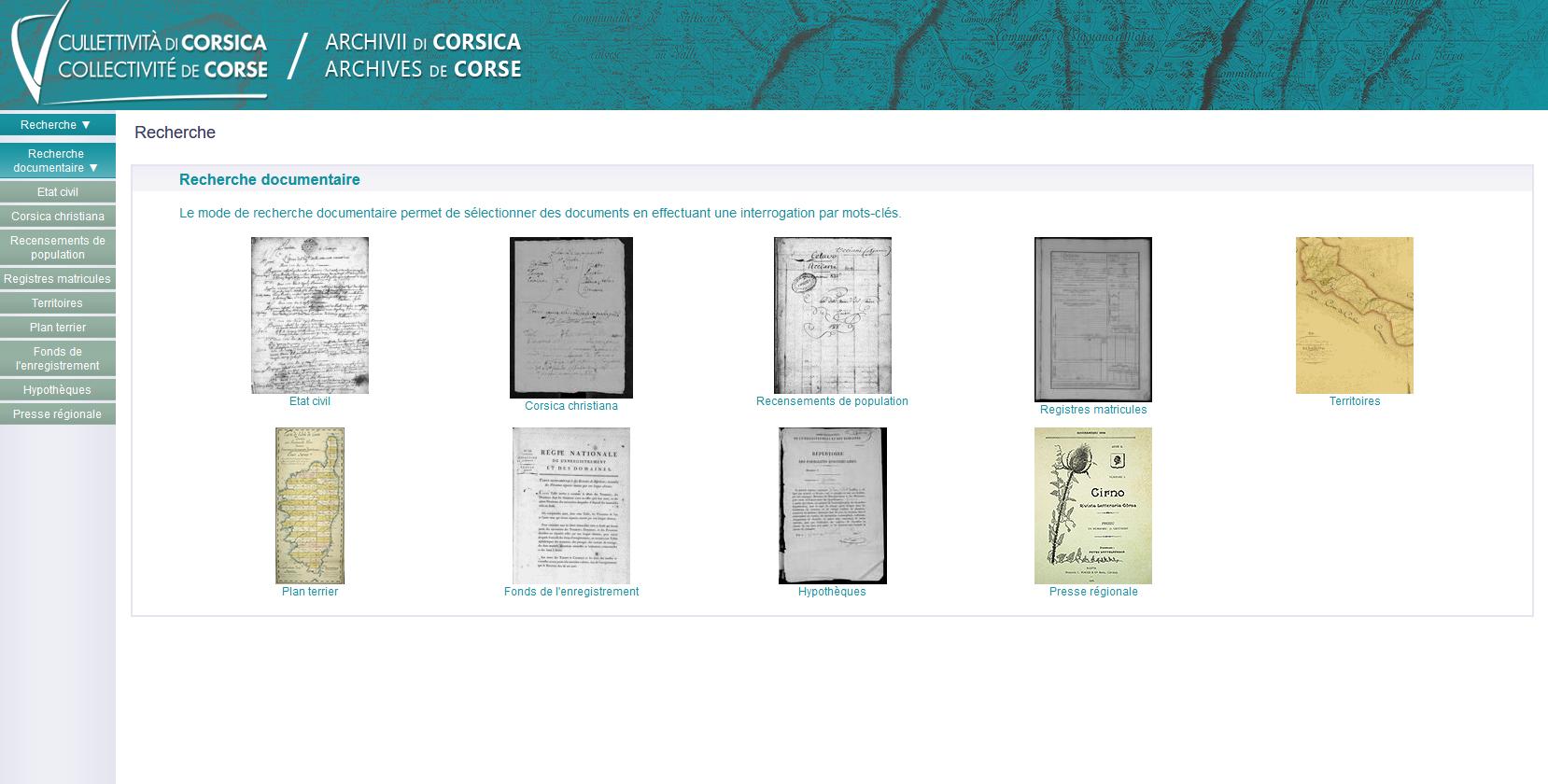 Du nouveau sur archives.isula.corsica !