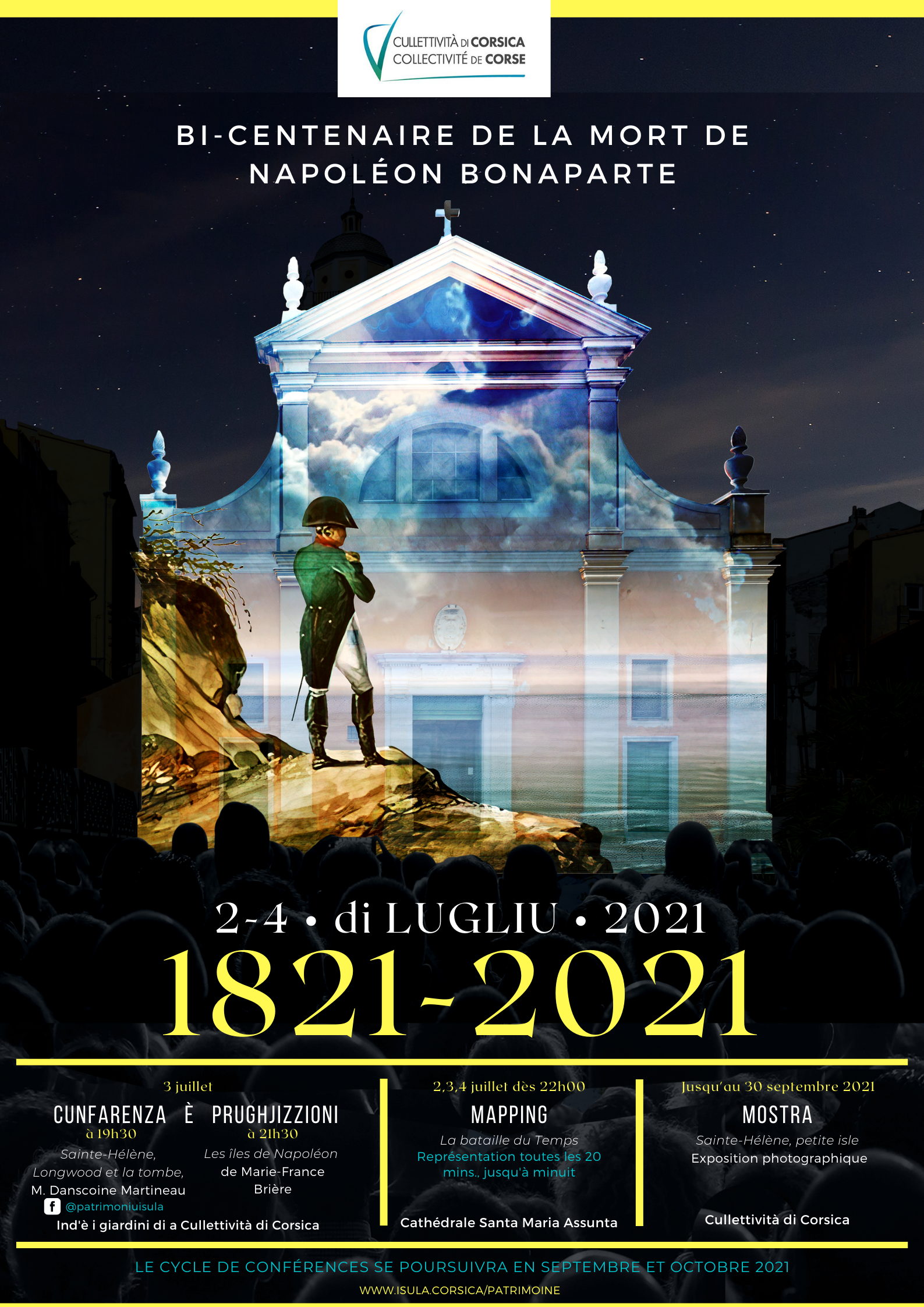 1821 - 2021 : Bi-Centenaire de la mort de Napoléon Bonaparte