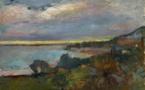 « Paysage Corse-Le Scoud » - Présentation de l'acquisition d'une oeuvre du peintre Henri Matisse