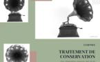 Traitement de conservation d'un gramophone