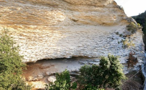 L'abri sous roche d'Araguina Sennola