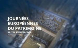 Inscription - Les Journées européennes du patrimoine 2019