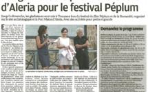 Beau succès pour<br/>le Festival du Péplum et de la Romanité