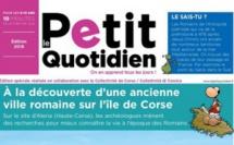 Le Petit Quotidien numéro spécial Corse