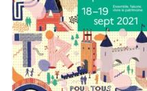 Inscriptions aux Journées européennes du patrimoine 2021