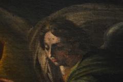détail d'une oeuvre conservée dans les réserves du CCRPMC - détail anciennes retouches-1