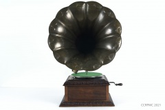 Traitement en conservation d'un gramophone