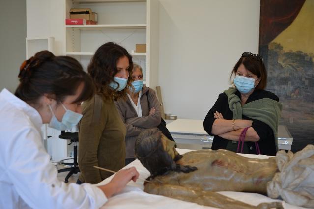 Les ateliers du Centre de Conservation-Restauration du patrimoine mobilier de Corse