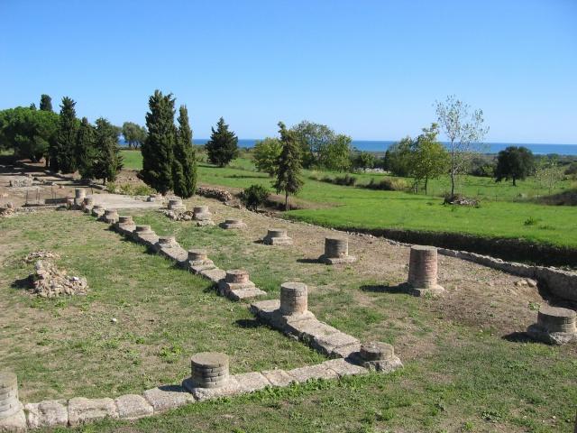 Aleria, angle sud ouest pretoire