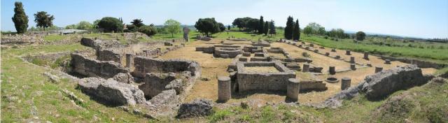 Aleria - Bains, pretoire, temple