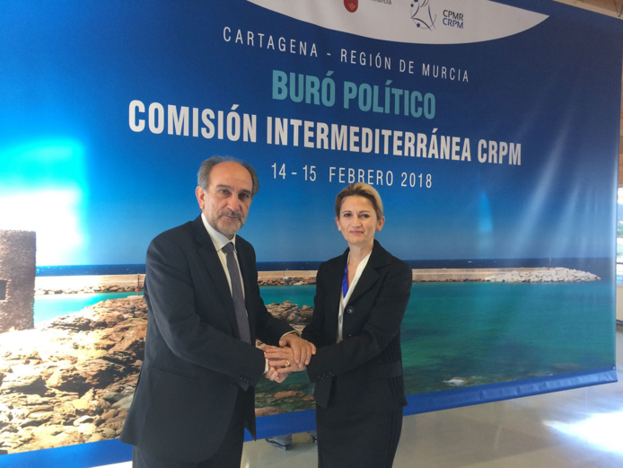 Réunion de la Commission Interméditerranéenne de la CRPM à Carthagène
