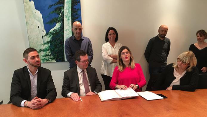 546b63cdd87 Signature de la convention entre la Collectivité de Corse et le FIPHFP