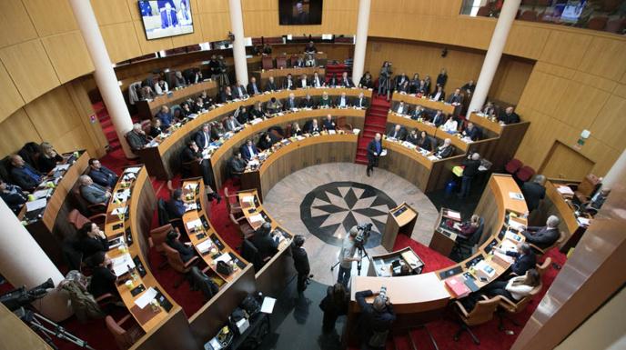 La session de l'Assemblée de Corse est REPORTÉE