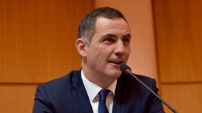 Cumunicatu di stampa di u Presidente di u Cunsigliu esecutivu di Corsica