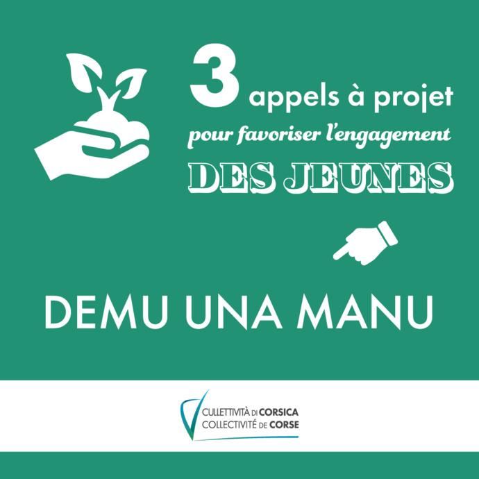 """ Demu una Manu : incontri di a ghjuventù "" - Chantiers de jeunes bénévoles"