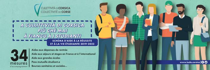 Schema di l'Aiutu à a Riescita è à a Vita studiantina 2019-2023