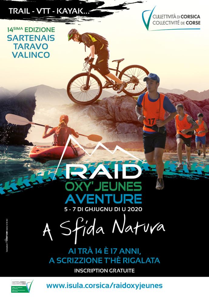 14ème édition du Raid Oxy'jeunes Aventure - A Sfida Natura