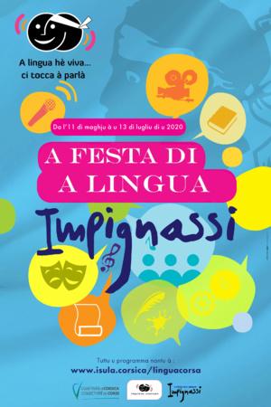 Chjama à prugetti per a Festa di a Lingua corsa.