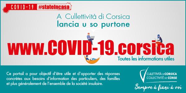 La Collectivité de Corse lance son portail dédié Covid-19.corsica