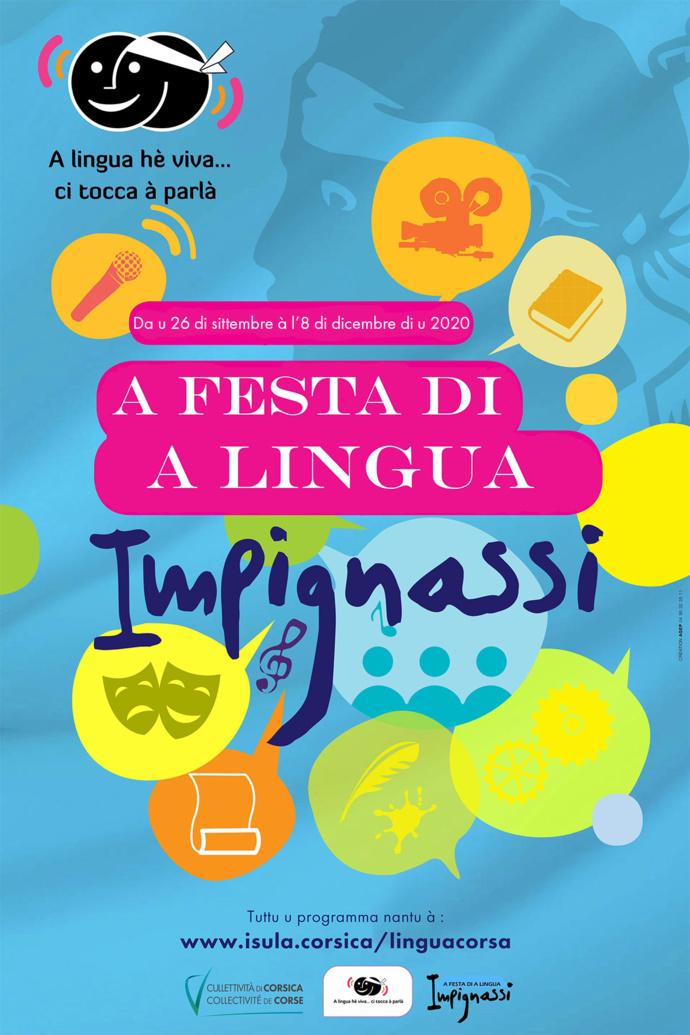 Prulungazione di a Chjama à prugetti per a Festa di a Lingua corsa.