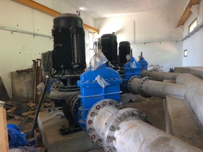 Poursuite de l'aménagement hydraulique de la Plaine Orientale - Raccordement du surpresseur de Tagliu è Isulacciu