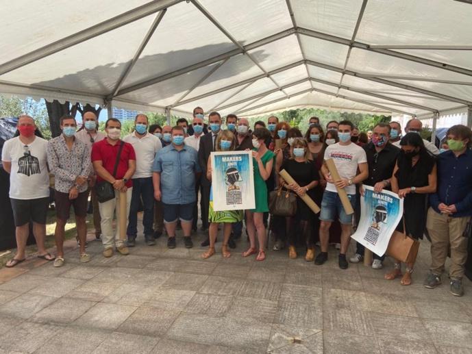 Cérémonie en l'honneur des « Makers Uniti »