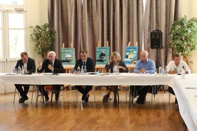 Présentation de la Campagne de communication de la Collectivité de Corse, ses Offices et Agences vers une pratique responsable de la gestion de l'eau en Corse