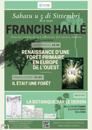 Cunfarenza di Francis Hallé, una vita in furesta