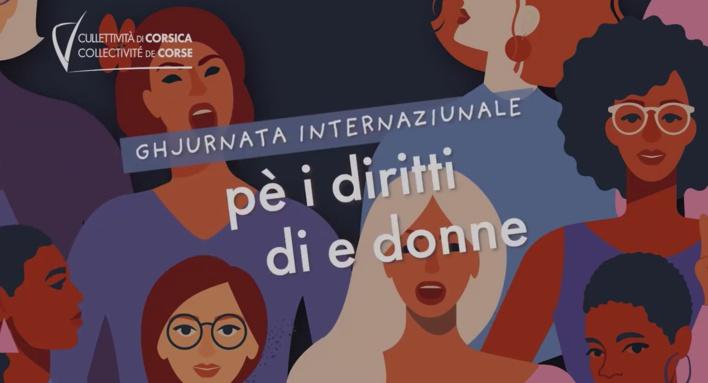 Journée internationale des droits des femmes : La Collectivité de Corse se mobilise aux cotés de la jeunesse