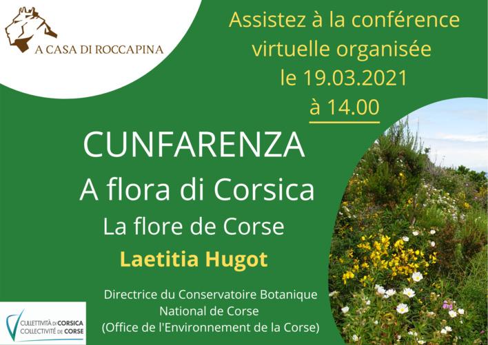 Cunfarenza : A flora di Corsica