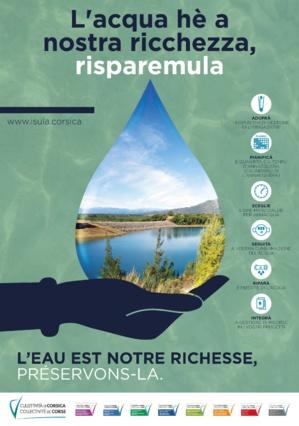 L'acqua hè a nostra ricchezza, risparemula !