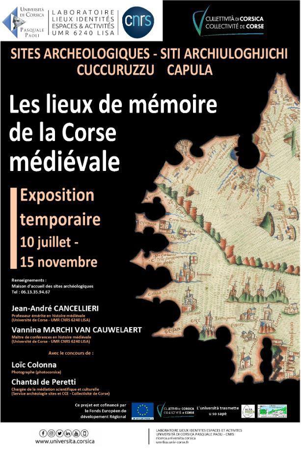 La Collectivité de Corse inaugure deux expositions en Alta Rocca