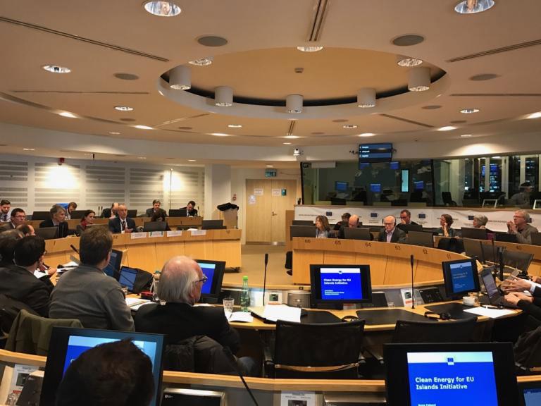 Participation de la Collectivité de Corse à une réunion de la Commission Européenne sur  « une énergie propre pour l'ensemble des îles européennes »