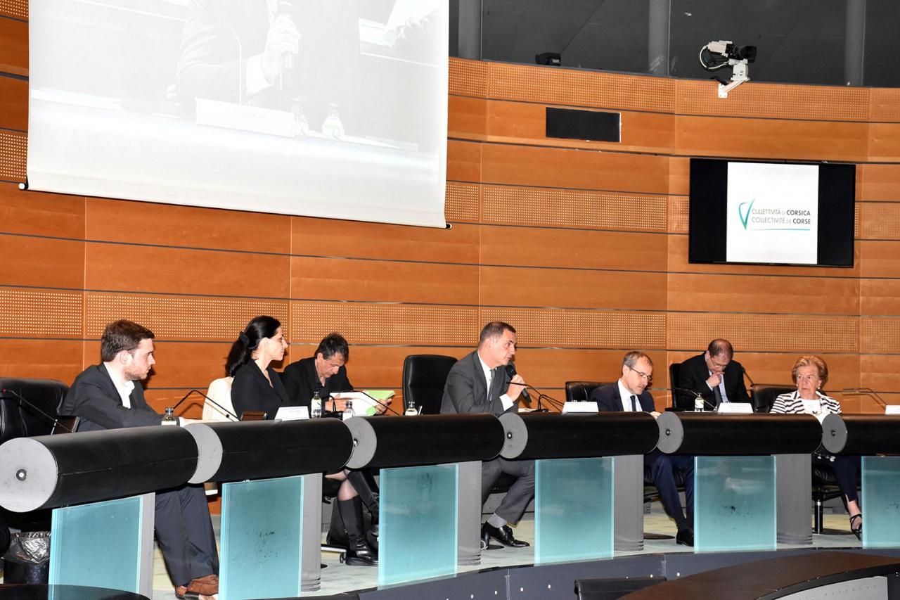 Sessione di a Camera di i Territorii di Corsica l'11 ghjugnu di 2018
