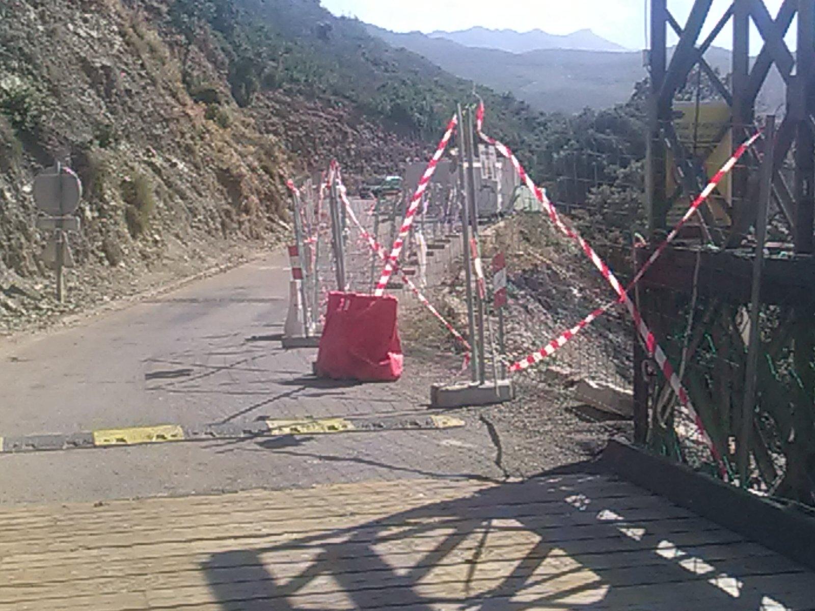RD 80 ‐ section Olmeta di Capicorsu ‐ Ferringule : reprise des travaux et fermeture de la route de 22h à 7h sauf le week-end à partir du 1er octobre 2018