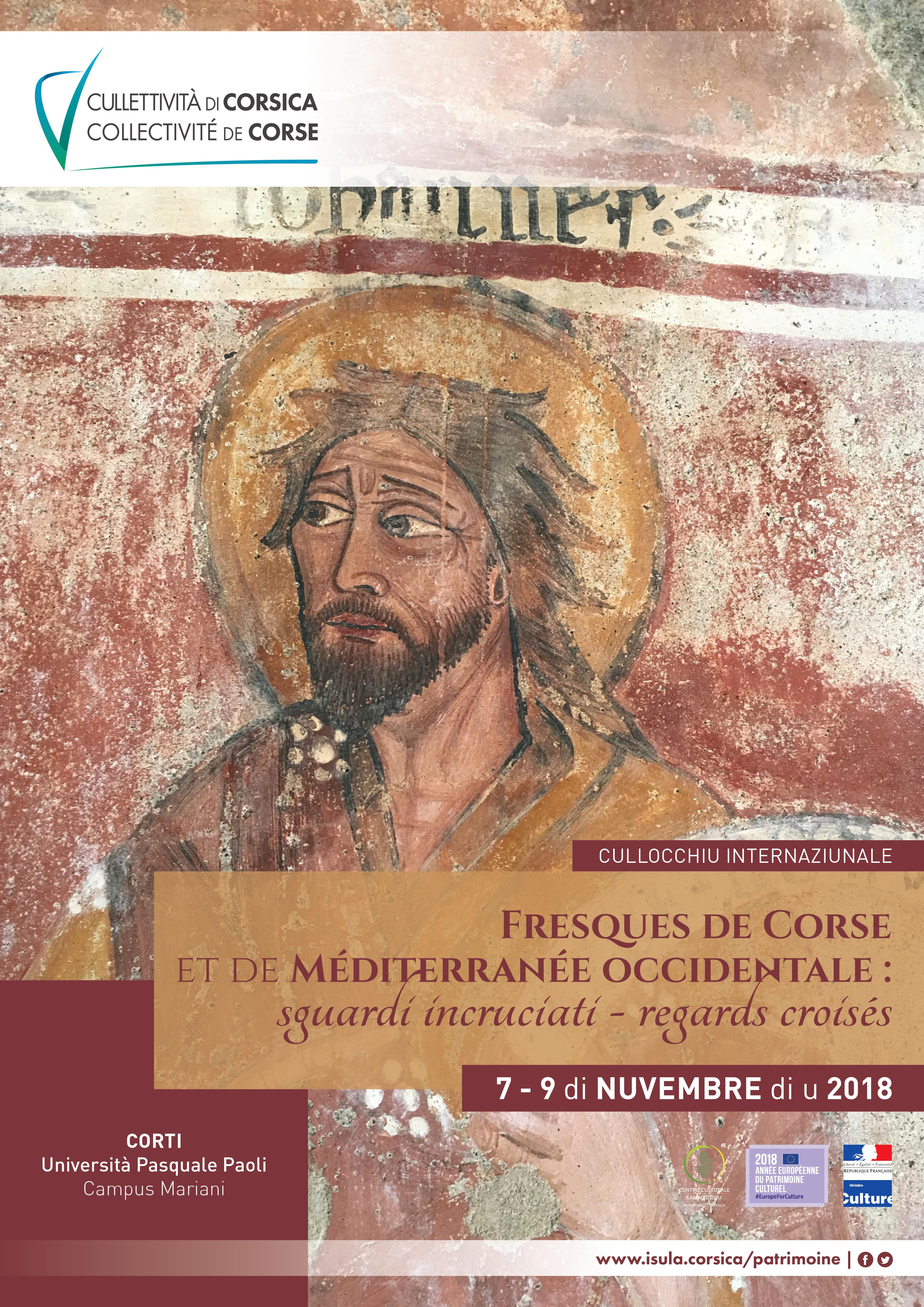 Colloque international sur les chapelles à fresques de Corse les 7, 8 et 9 novembre 2018 à Corti