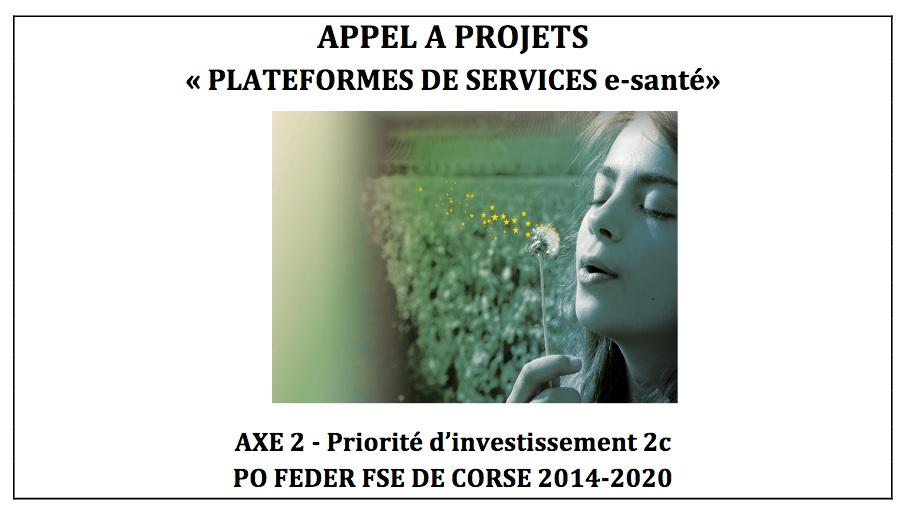 La Collectivité de Corse lance un appel à projets Plateformes de Services e-santé