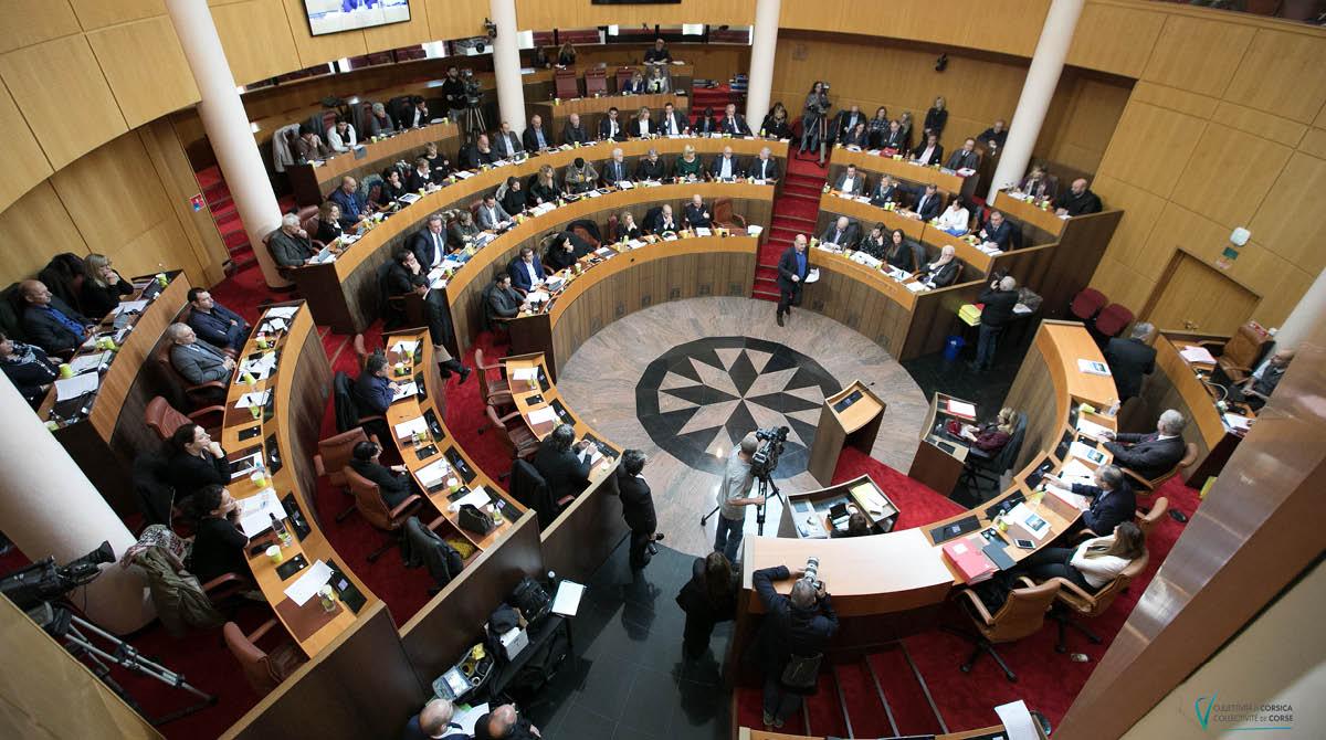 Session de l'Assemblée de Corse des 21 et 22 février 2019