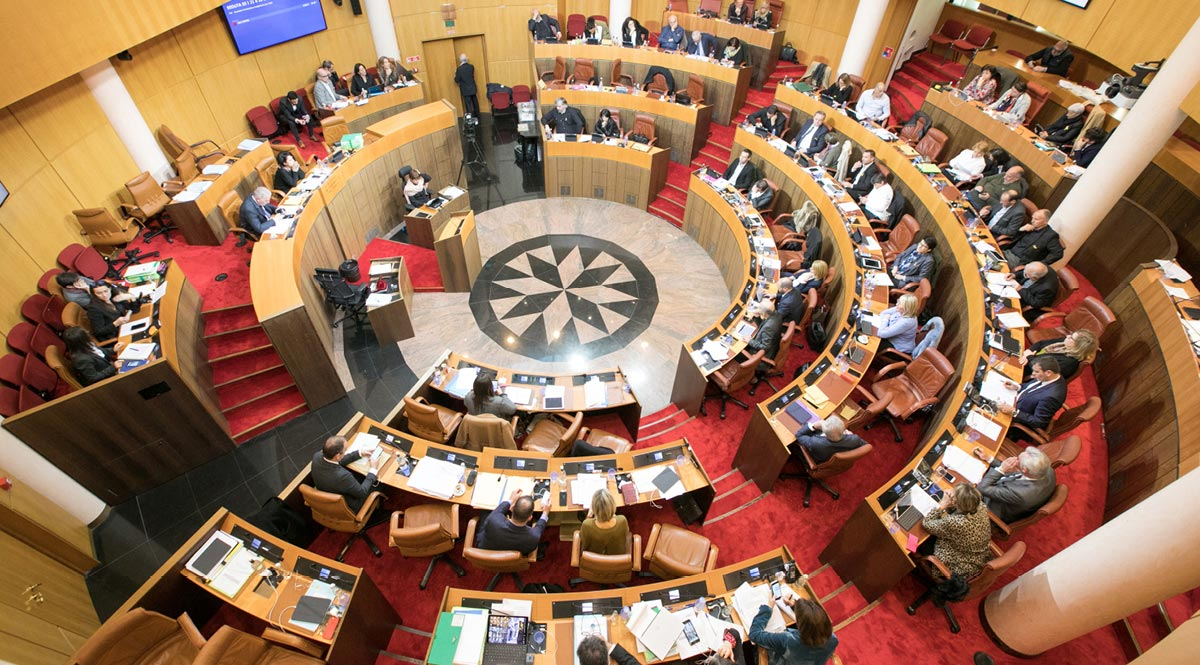 Session de l'Assemblée de Corse des 28 et 29 novembre 2019