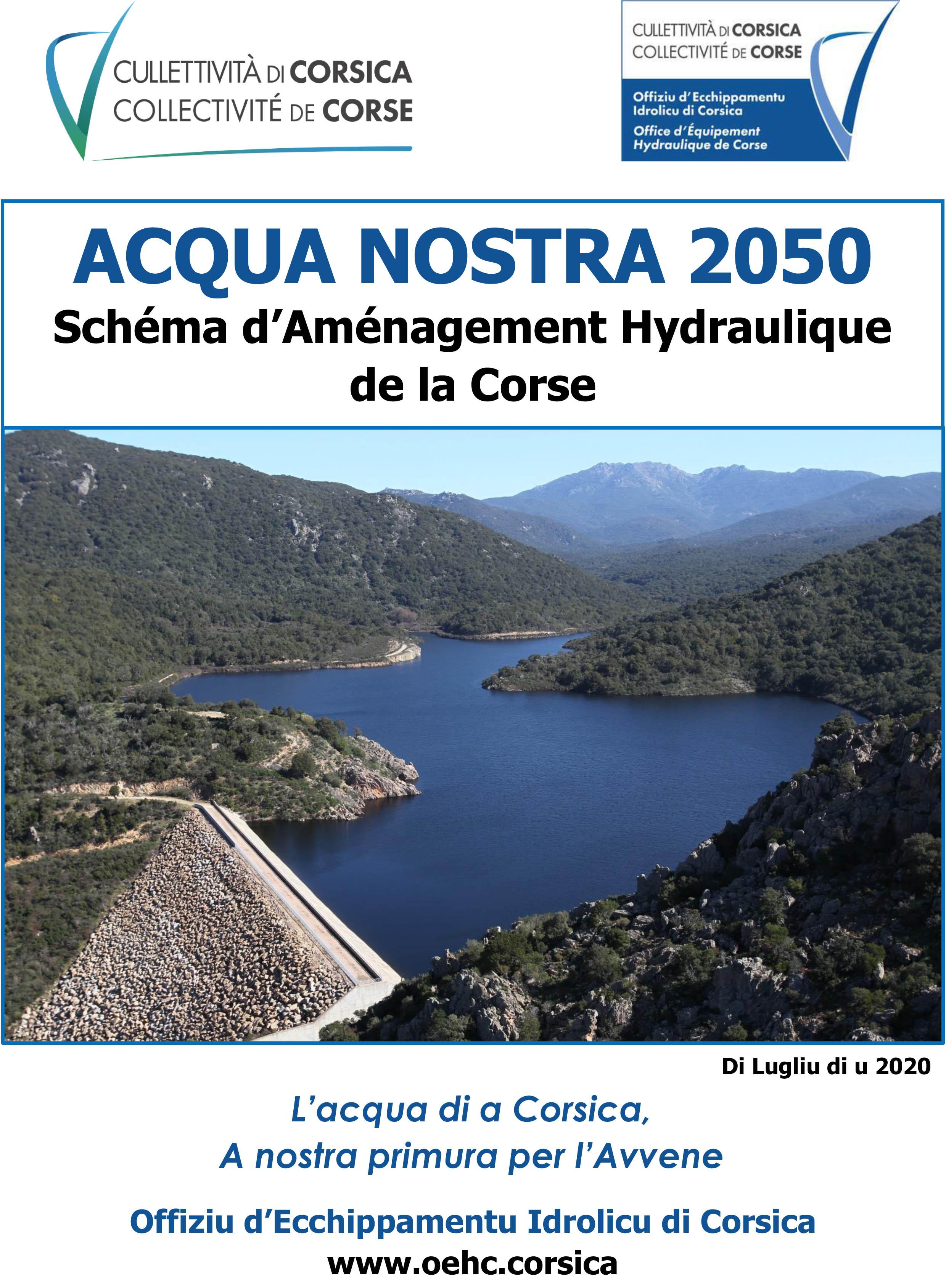 Acqua nostra 2050 - Schéma d'Aménagement Hydraulique de la Corse