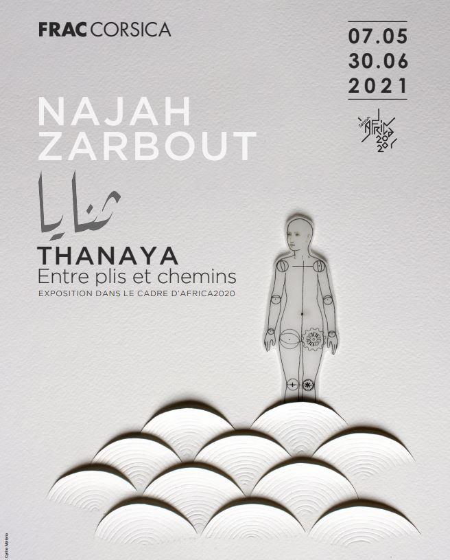 """Exposition dans le cadre d'Africa 2020 """"THANAYA : entre plis et chemins"""""""