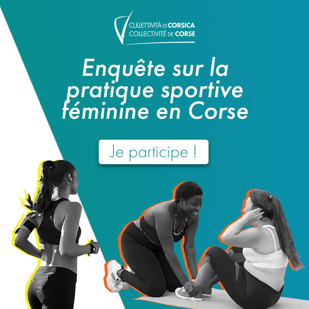 Enquête sur la pratique sportive féminine en Corse