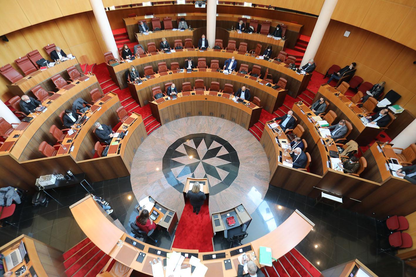 Ordre du jour de la séance d'installation de l'Assemblée de Corse du 1er juillet 2021